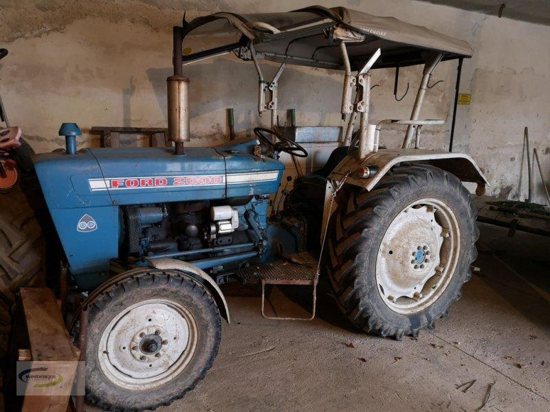 Traktor a típus Ford 2000, Gebrauchtmaschine ekkor: Frontenhausen (Kép 1)