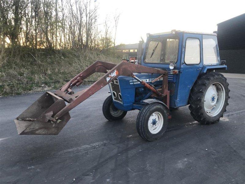 Traktor typu Ford 3600 smalspor m. frontlæsser Frontlææer, Gebrauchtmaschine w Roslev (Zdjęcie 1)