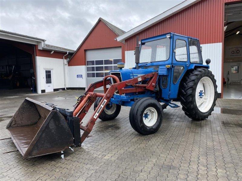 Traktor типа Ford 4600 MED FULDHYDRAULISK FRONTLÆSSER!, Gebrauchtmaschine в Aalestrup (Фотография 1)