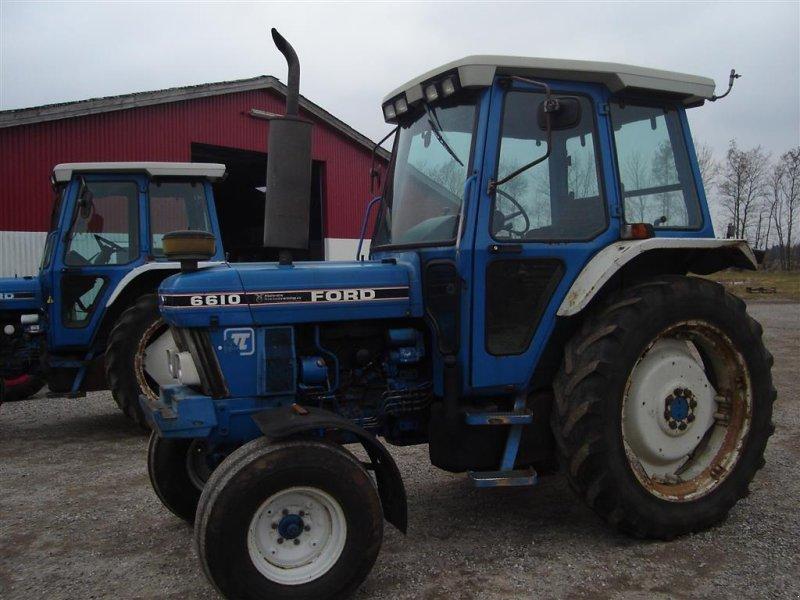 Traktor typu Ford 6610 Force II, Gebrauchtmaschine w Ejstrupholm (Zdjęcie 1)