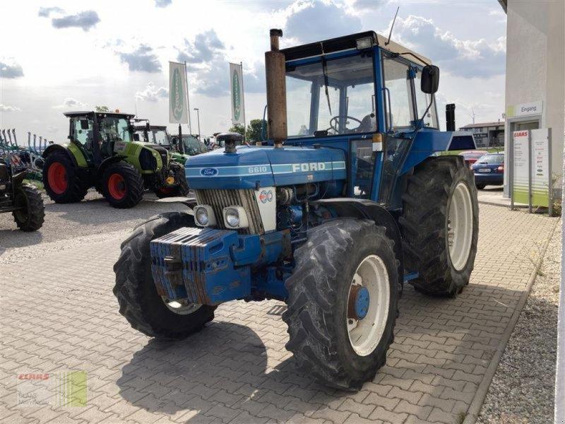 Traktor des Typs Ford 6610, Gebrauchtmaschine in Aurach (Bild 13)