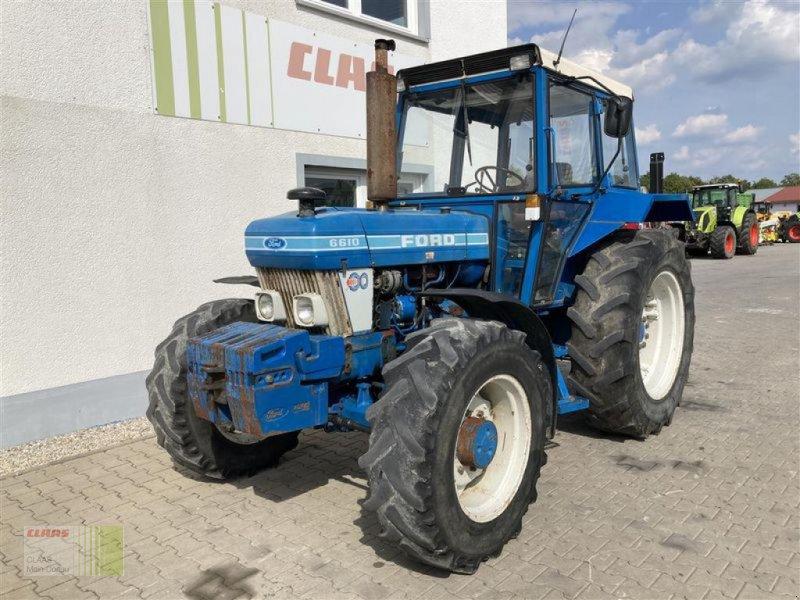 Traktor des Typs Ford 6610, Gebrauchtmaschine in Aurach (Bild 14)