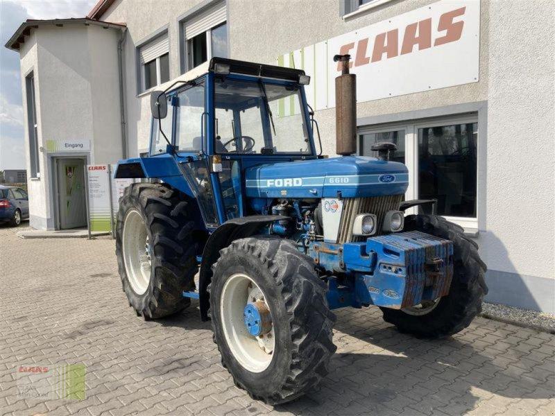 Traktor des Typs Ford 6610, Gebrauchtmaschine in Aurach (Bild 11)