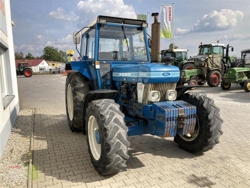 Traktor des Typs Ford 6610, Gebrauchtmaschine in Aurach (Bild 15)