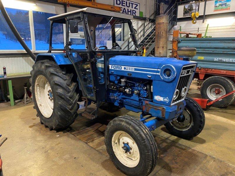 Traktor del tipo Ford 7600, Gebrauchtmaschine en Courtedoux (Imagen 1)