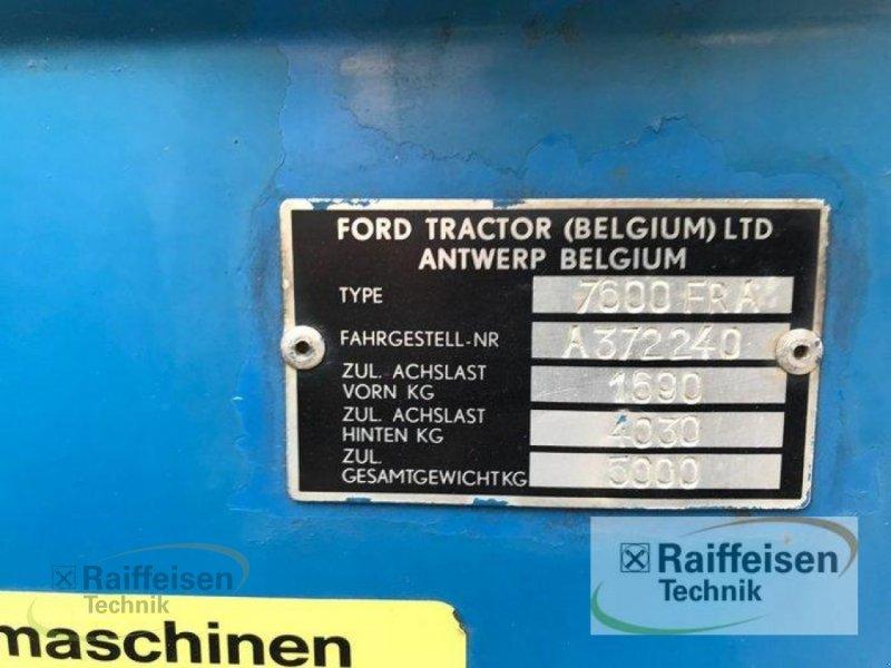 Traktor des Typs Ford 7600, Gebrauchtmaschine in Linsengericht - Altenhaßlau (Bild 14)