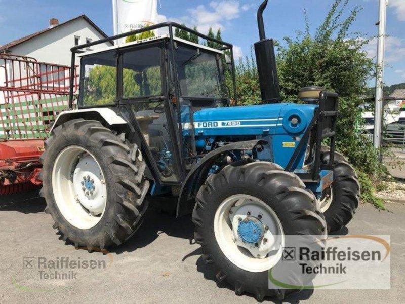 Traktor des Typs Ford 7600, Gebrauchtmaschine in Linsengericht - Altenhaßlau (Bild 5)