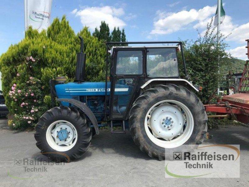 Traktor des Typs Ford 7600, Gebrauchtmaschine in Linsengericht - Altenhaßlau (Bild 1)