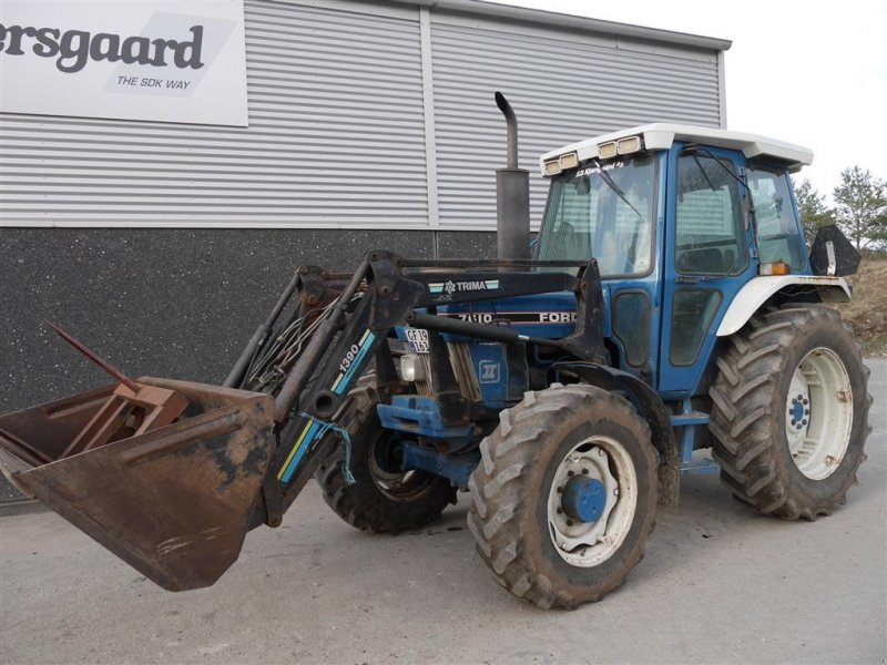 Traktor typu Ford 7610 F2 4wd med Frontlæsser, Gebrauchtmaschine w Aalborg SV (Zdjęcie 1)