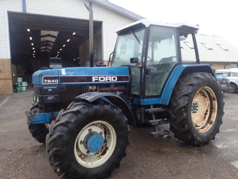 Traktor des Typs Ford 7840, Gebrauchtmaschine in Viborg (Bild 1)