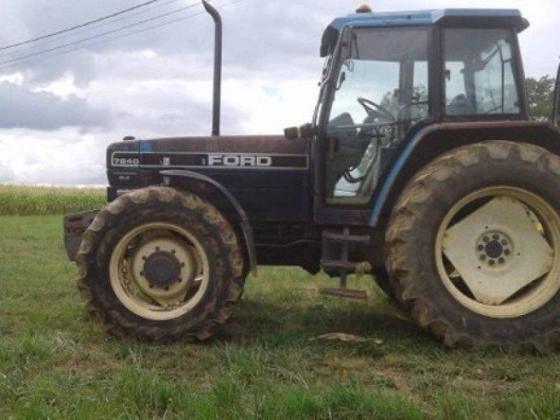 Traktor типа Ford 7840, Gebrauchtmaschine в SAVIGNEUX (Фотография 1)