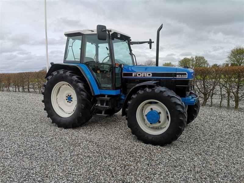 Traktor типа Ford 8340 SLE Turbo 4wd - 40KM/T, Gebrauchtmaschine в Gredstedbro (Фотография 1)