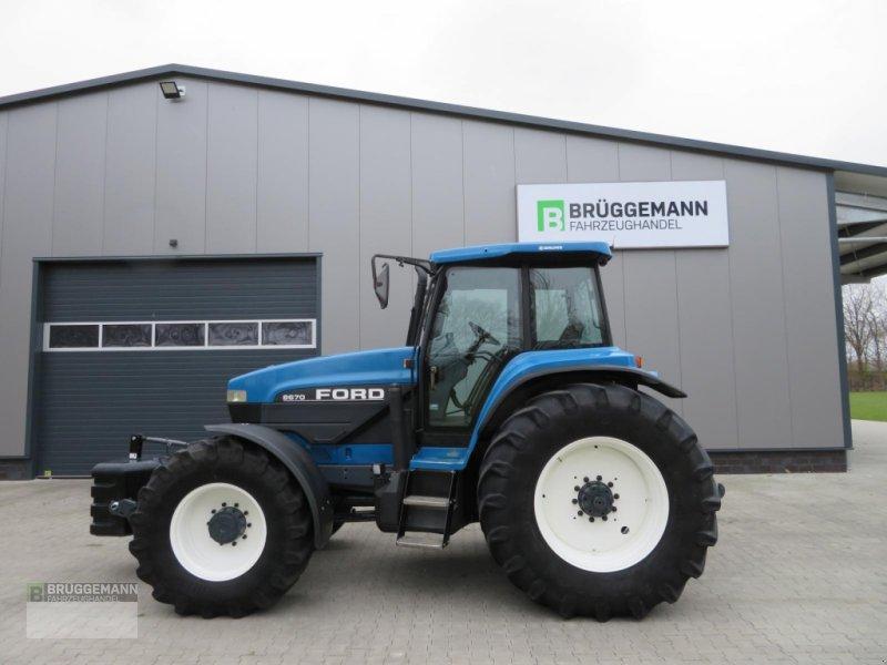 Traktor typu Ford 8670 im Top Zustand mit wenig Stunden, Gebrauchtmaschine w Meppen (Zdjęcie 1)