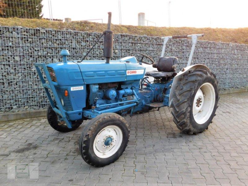 Traktor del tipo Ford Dexta 2000, Gebrauchtmaschine en Gross-Bieberau (Imagen 1)