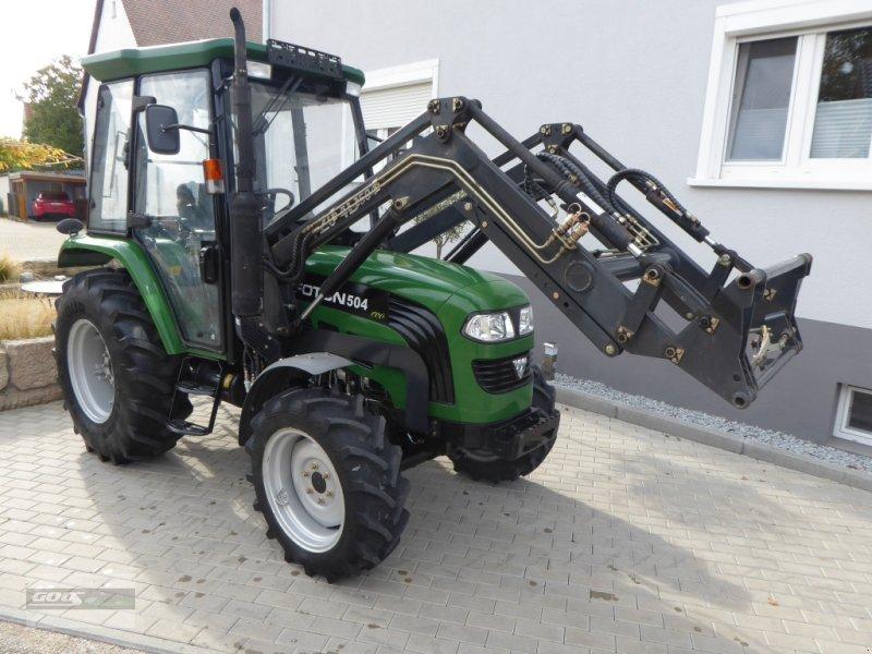 Traktor типа foton 504 Allr. Erst 670 Std. Mit Industriefrontlader. Neuwertiger Zustand!, Gebrauchtmaschine в Langenzenn (Фотография 1)