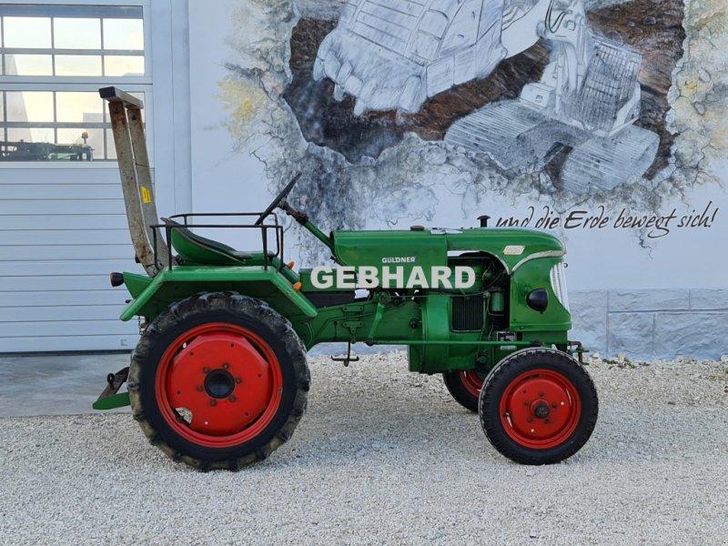 Traktor des Typs Güldner Oldtimer Bulldog 12 PS mit Heckzapfwelle Güldner Traktor ALK 8, Gebrauchtmaschine in Großschönbrunn (Bild 1)