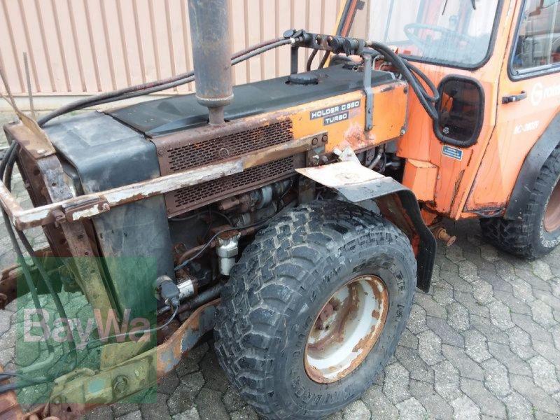 Traktor des Typs Holder HOLDER C 560 TURBO, Gebrauchtmaschine in Manching (Bild 7)