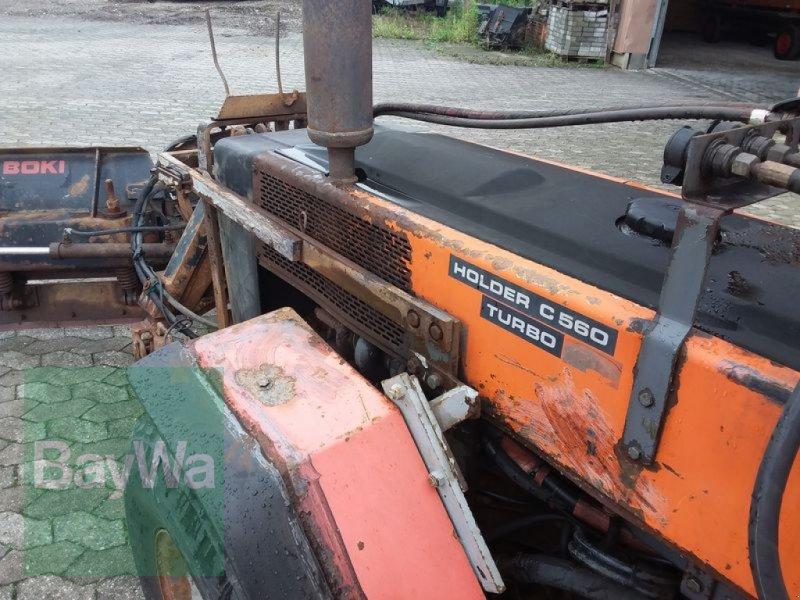 Traktor des Typs Holder HOLDER C 560 TURBO, Gebrauchtmaschine in Manching (Bild 12)