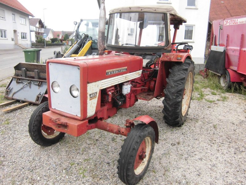 Traktor типа IHC 423, Gebrauchtmaschine в Ostrach (Фотография 1)