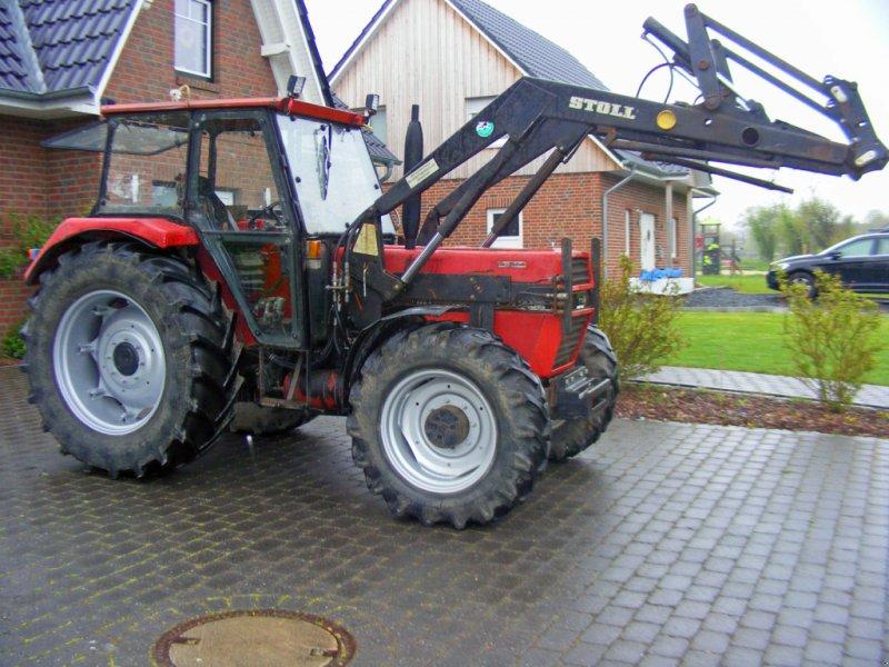 Traktor типа IHC 745 Frontlader+Druckluft+Niedrigkabine, Gebrauchtmaschine в Kutenholz (Фотография 1)