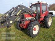 Traktor a típus IHC 844XLA im gutem Original-Zustand. Mit Stoll Ind-Lader, Gebrauchtmaschine ekkor: Langenzenn