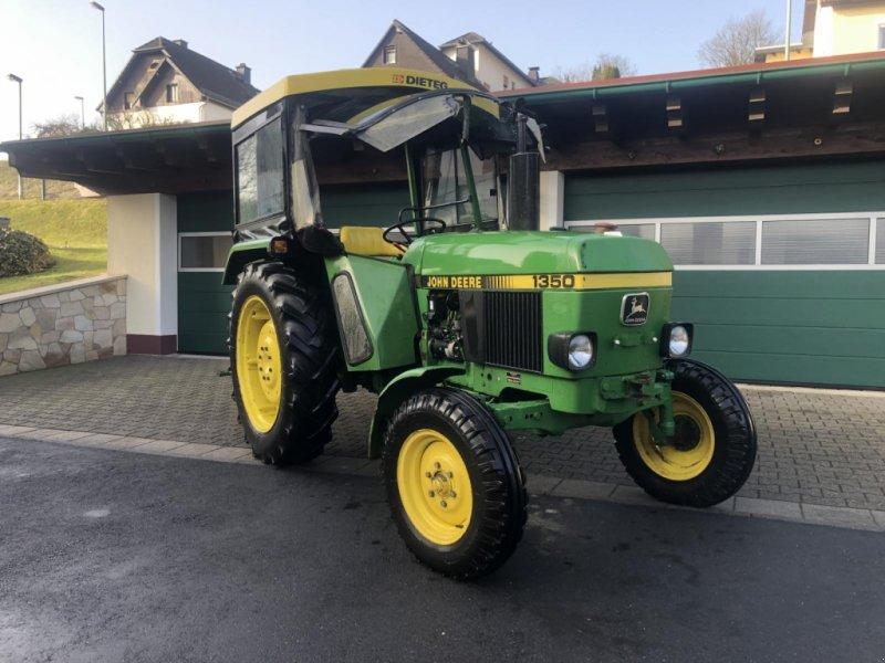 Traktor типа John Deere 1350 wie 1750 - 30 km/h - Originalzustand - TÜV, Gebrauchtmaschine в Niedernhausen (Фотография 1)