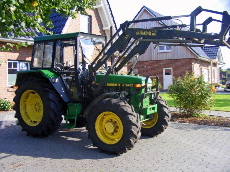 Traktor tip John Deere 2140 Frontlader+Allrad+Lenkhilfe, Gebrauchtmaschine in Kutenholz (Poză 1)