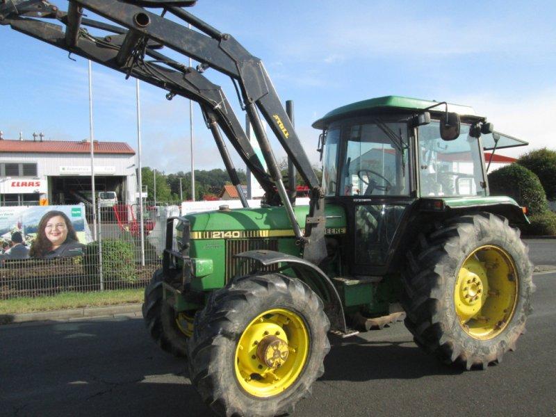 Traktor des Typs John Deere 2140 Frontlader, Gebrauchtmaschine in Wülfershausen an der Saale (Bild 1)