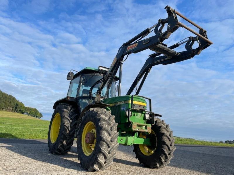 Traktor типа John Deere 2140 mit Frontlader, Gebrauchtmaschine в Steinau  (Фотография 1)