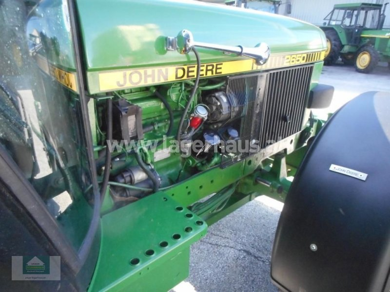Traktor типа John Deere 2650 SG II, Gebrauchtmaschine в Klagenfurt (Фотография 10)