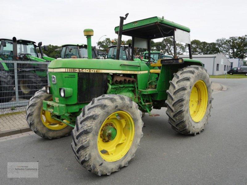 Traktor des Typs John Deere 3140 Allrad, Gebrauchtmaschine in Borken (Bild 1)