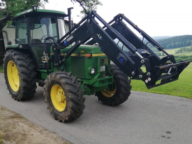 Traktor типа John Deere 3140 SG 2, Gebrauchtmaschine в Untergriesbach (Фотография 1)