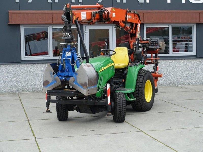 Traktor a típus John Deere 3720 4wd HST / 2009 Draaiuren / Atlas 65.2 Kraan, Gebrauchtmaschine ekkor: Swifterband (Kép 1)