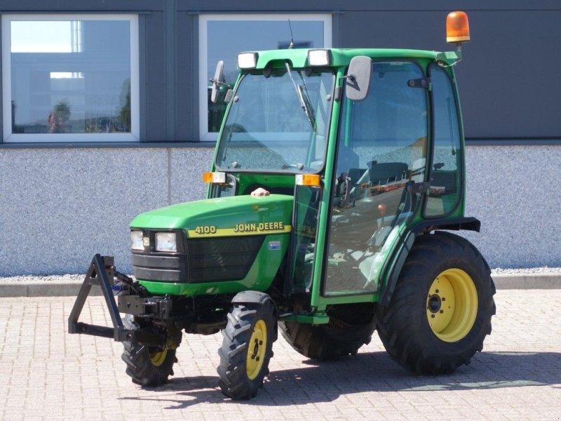 Traktor типа John Deere 4100 4wd HST / 1299 Draaiuren / Fronthef + Cabine, Gebrauchtmaschine в Swifterband (Фотография 1)
