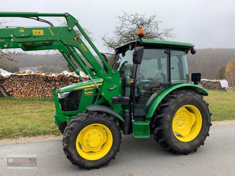 Traktor des Typs John Deere 5075 E, Gebrauchtmaschine in Lichtenfels (Bild 7)