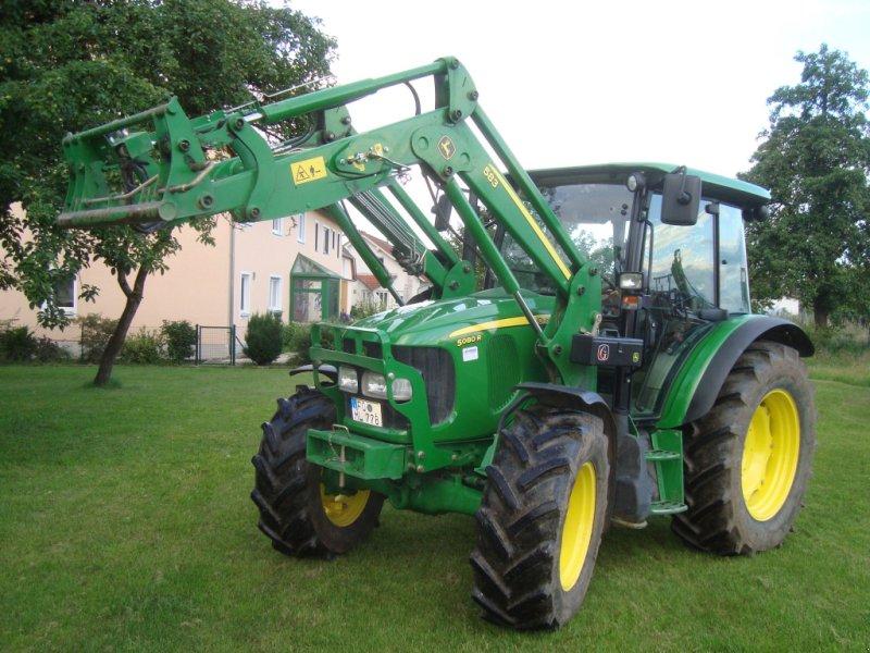 Traktor des Typs John Deere 5080 R, Gebrauchtmaschine in Emskirchen (Bild 1)