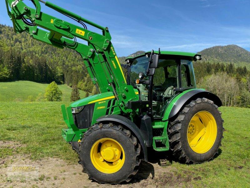 Traktor des Typs John Deere 5100 R, Gebrauchtmaschine in Söchtenau (Bild 1)