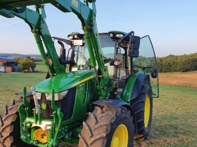 Traktor des Typs John Deere 5100 R, Gebrauchtmaschine in Reichartshausen (Bild 2)