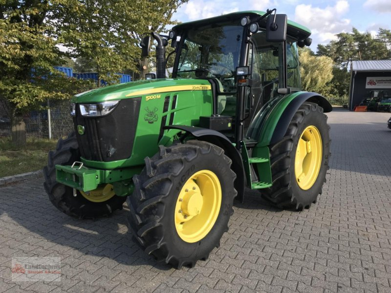 Traktor a típus John Deere 5100M BJ' 2017 / 1600 Betr.-Std., Gebrauchtmaschine ekkor: Marl (Kép 1)