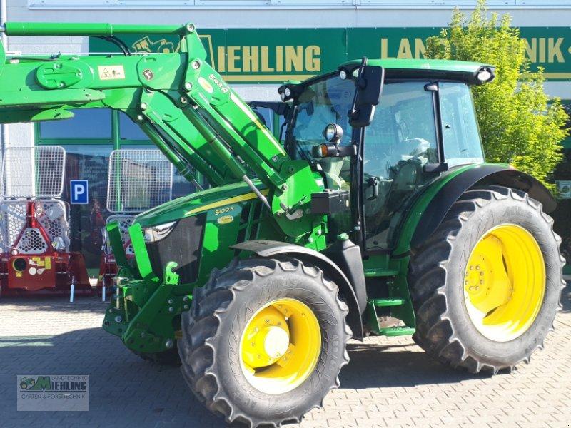 """Traktor des Typs John Deere 5100R mit 543R Frontlader """"Vollausstattung"""", Gebrauchtmaschine in Pollenfeld (Bild 1)"""