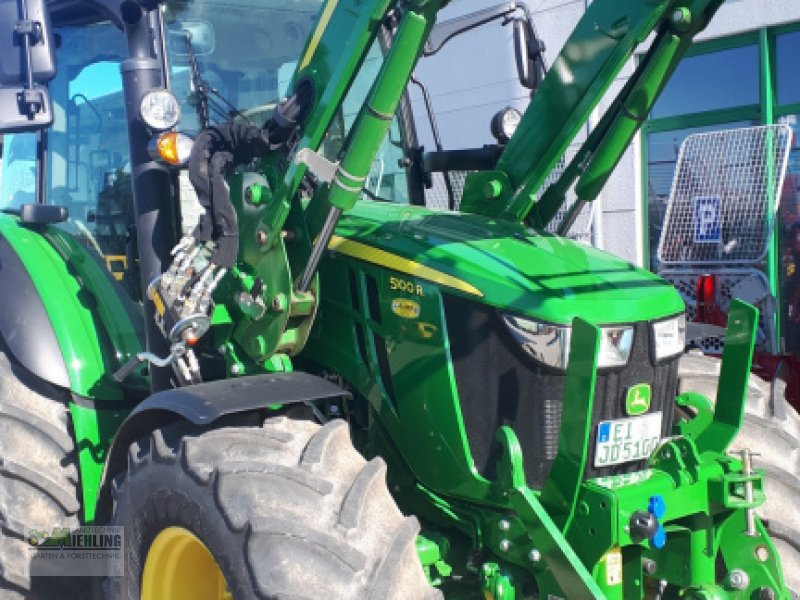 """Traktor des Typs John Deere 5100R mit 543R Frontlader """"Vollausstattung"""", Gebrauchtmaschine in Pollenfeld (Bild 2)"""
