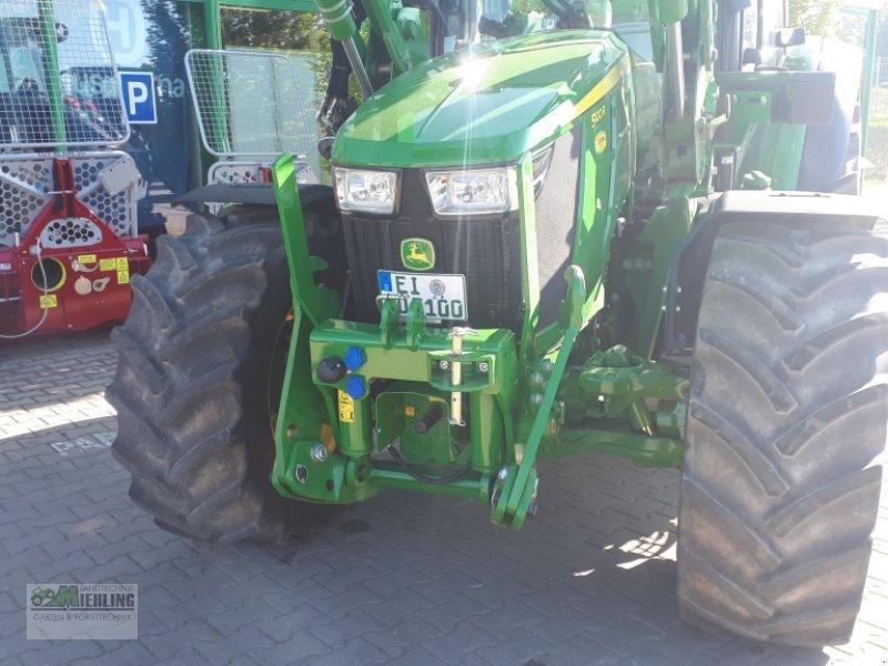 """Traktor des Typs John Deere 5100R mit 543R Frontlader """"Vollausstattung"""", Gebrauchtmaschine in Pollenfeld (Bild 4)"""