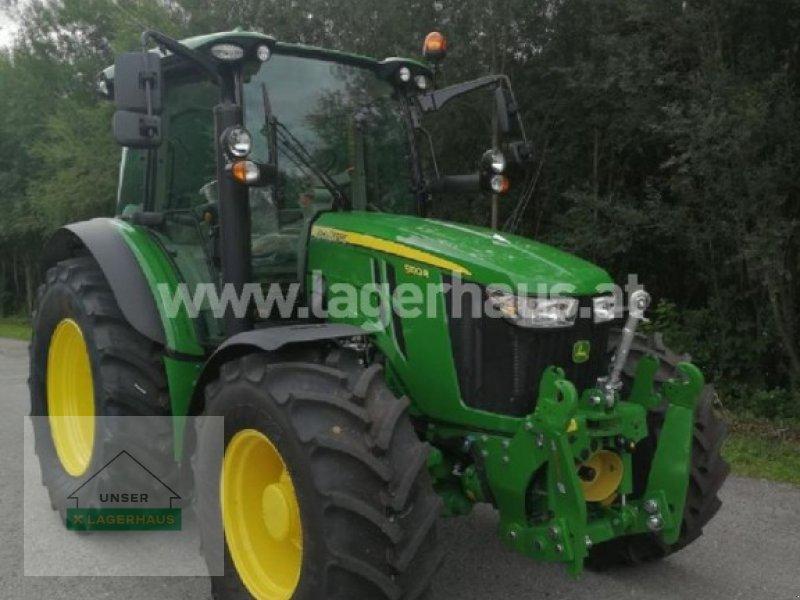 Traktor typu John Deere 5100R, Neumaschine v Göstling (Obrázok 1)