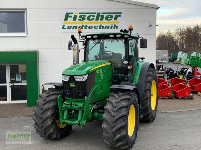 Traktor типа John Deere 6 195R, Gebrauchtmaschine в Kroppach (Фотография 1)
