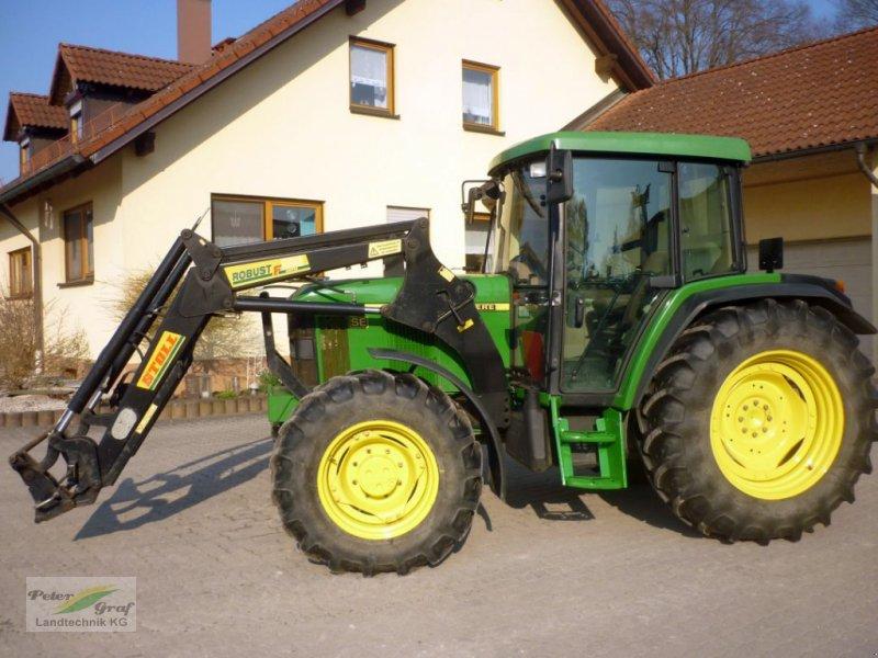 Traktor типа John Deere 6010 SE, Gebrauchtmaschine в Pegnitz-Bronn (Фотография 1)
