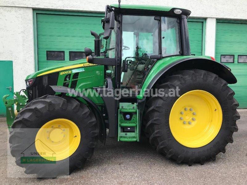 Traktor des Typs John Deere 6100 M, Gebrauchtmaschine in Pregarten (Bild 1)