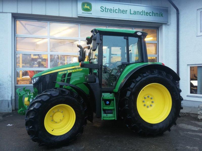 Traktor des Typs John Deere 6100 M, Gebrauchtmaschine in Günzach (Bild 1)