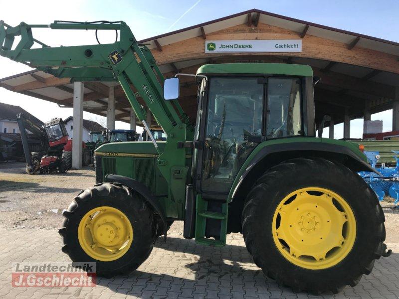 Traktor des Typs John Deere 6100A FL, Gebrauchtmaschine in Mühldorf (Bild 1)