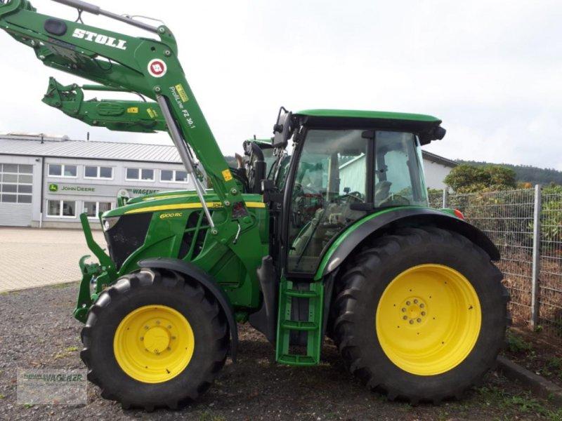 Traktor a típus John Deere 6100RC, Gebrauchtmaschine ekkor: Bad Wildungen-Wega (Kép 1)