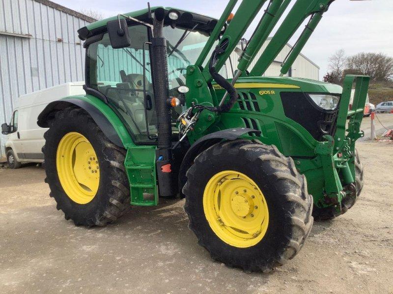 Traktor a típus John Deere 6105 R, Gebrauchtmaschine ekkor: CORMENON (Kép 1)